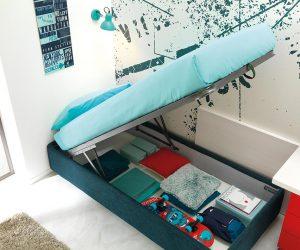 Contenitore sotto letto-