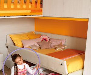Contenitori sotto letto