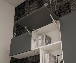 Wallbox con apertura basculante